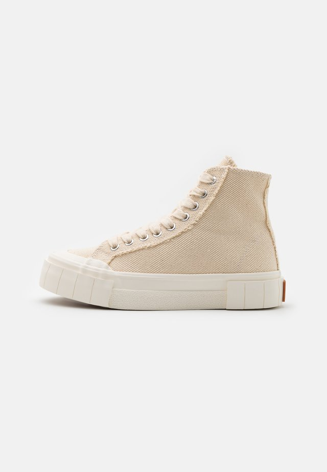 PALM UNISEX - Sneakers hoog - oatmeal