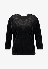 Aaiko - VINA UNI PES  - Long sleeved top - black - 3