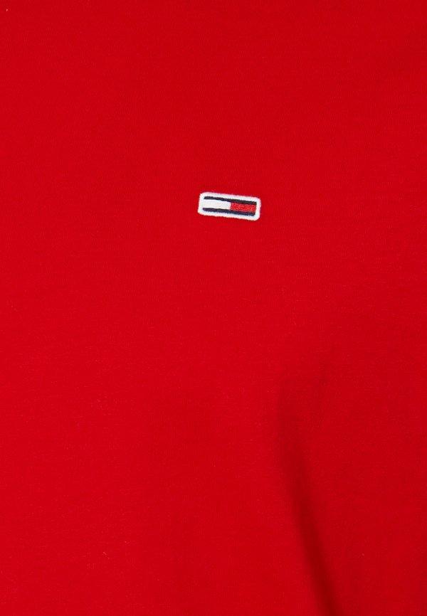 Tommy Jeans CLASSICS TEE - T-shirt basic - red/czerwony Odzież Męska BKVD