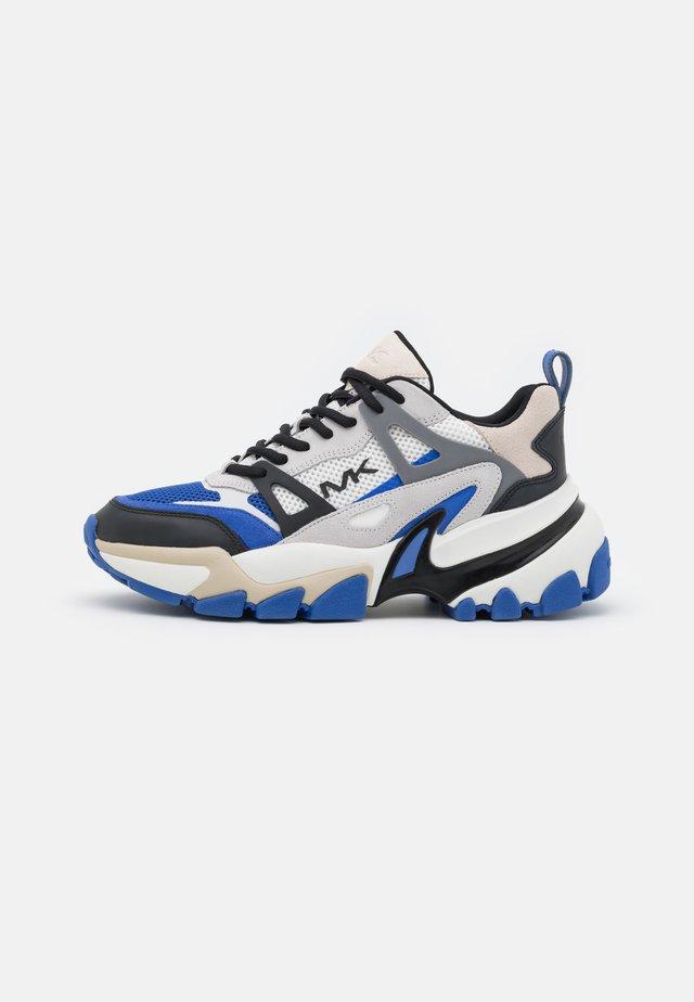 NICK - Sneakers basse - tide blue