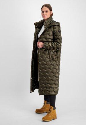 PENNY LANG - Down coat - dunkelolive