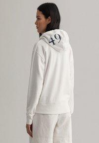 GANT - Zip-up hoodie - eggshell - 2