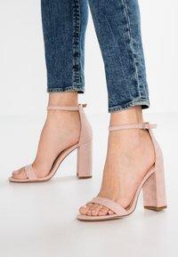 Even&Odd - Sandály na vysokém podpatku - rose - 0