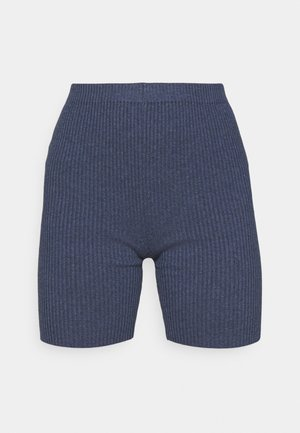 HIGH WAIST  - Shorts - dark blue