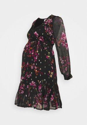MLLIOBA SHORT DRESS - Day dress - black