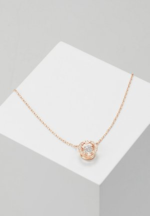 Necklace - rose gold-coloured/white