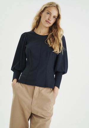 Long sleeved top - marine blue