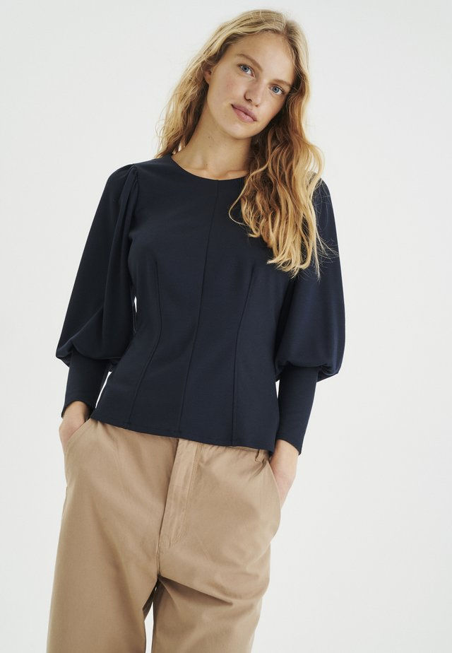 Maglietta a manica lunga - marine blue