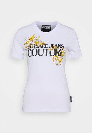Camiseta estampada - bianco ottico