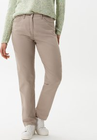 BRAX - STYLE CORRY - Straight leg jeans - light taupe - 0