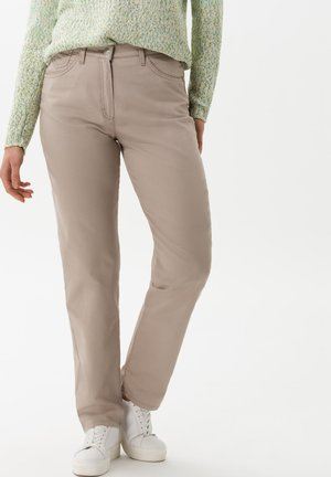 STYLE CORRY - Straight leg jeans - light taupe