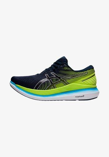 GLIDERIDE 2 - Neutral running shoes - french blue/hazard green