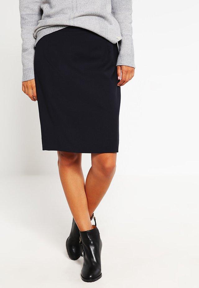 COOL - Áčková sukně - dark navy