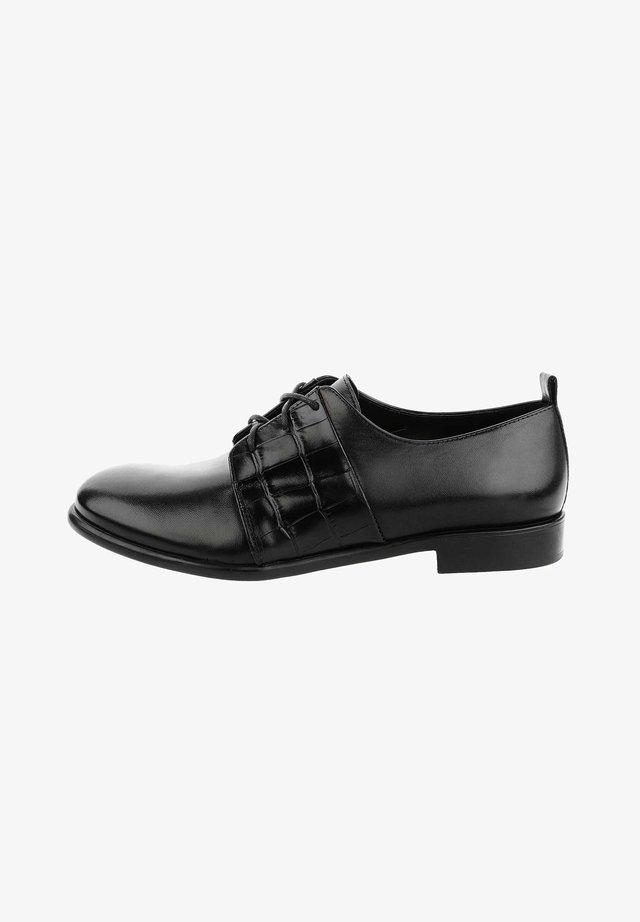 GALIERA  - Šněrovací boty - black