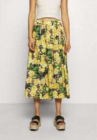 Gestuz - CASSIAGZ SKIRT  - A-line skirt - yellow - 0