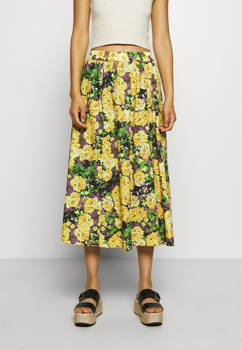 Gestuz - CASSIAGZ SKIRT  - A-line skirt - yellow