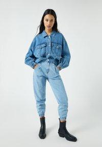 PULL&BEAR - Jeans baggy - blue-grey - 1