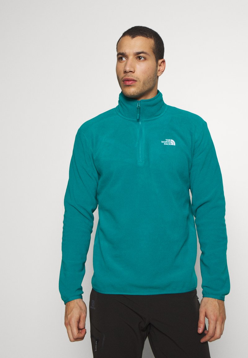 The North Face - MENS GLACIER 1/4 ZIP - Fleece jumper - fanfare green