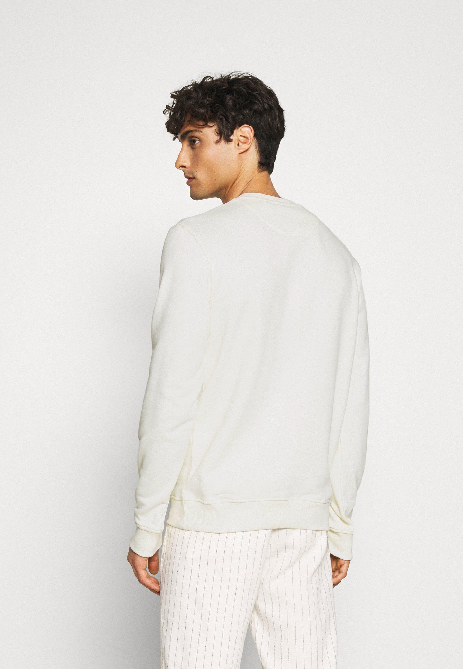 Lyle & Scott Crew Neck - Sweatshirt Vanilla Ice/offwhite