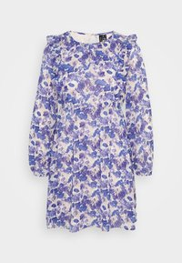 Vero Moda Petite - VMVIOLA SHORT DRESS - Kjole - birch/viola - 5