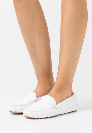 ANNA  - Mokasíny - white