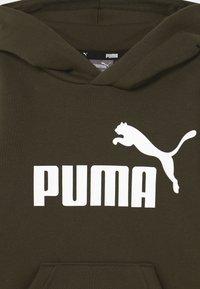 Puma - BIG LOGO HOODIE UNISEX - Sweater - forest night - 2