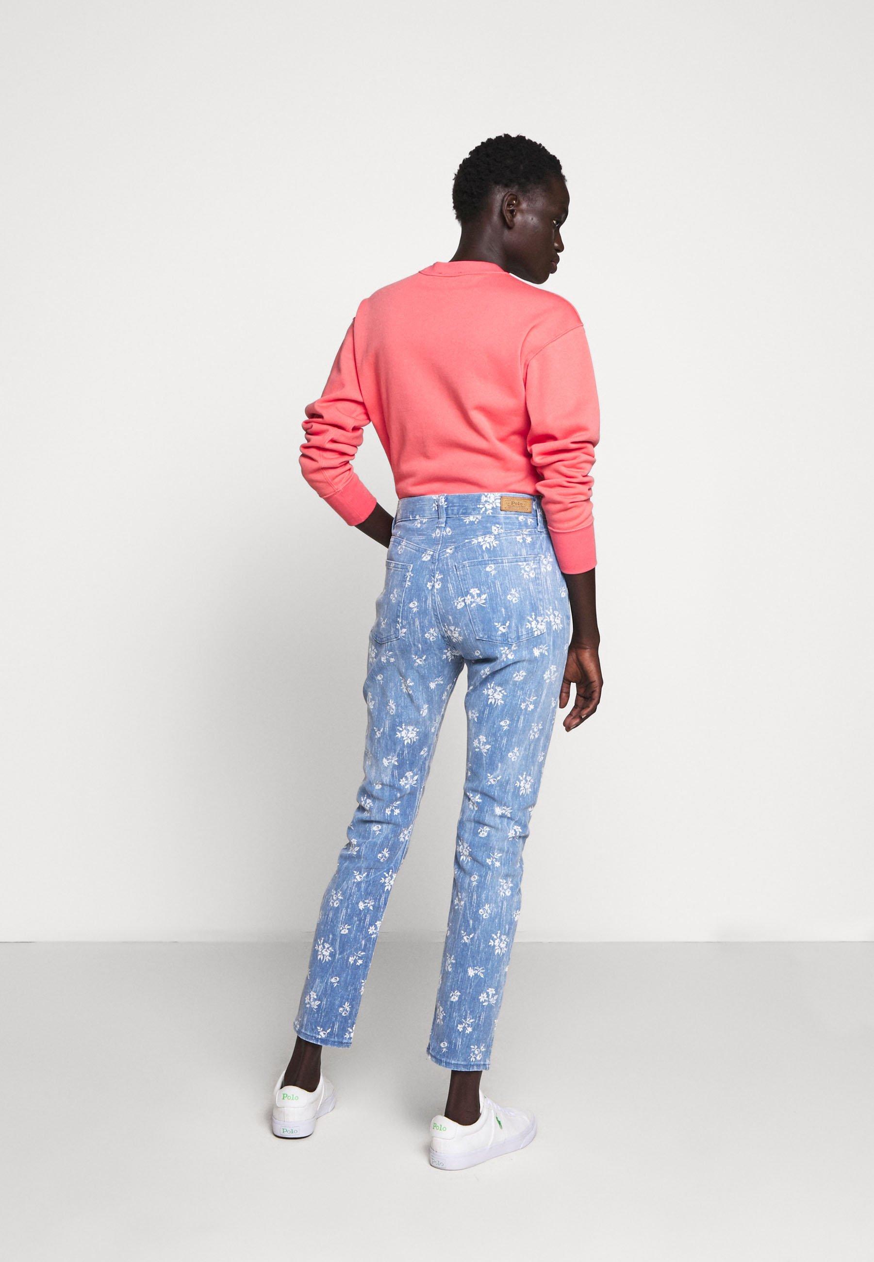 Polo Ralph Lauren ALYSON WASH - Jeans Skinny - blue denim - Jeans Femme UZFpE