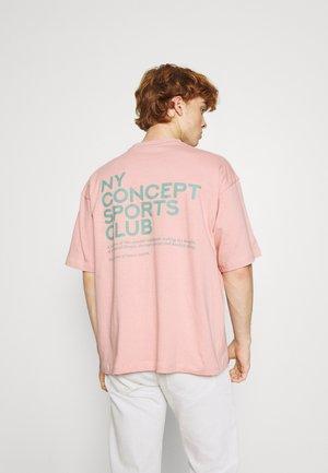 BALANCE UNISEX  - T-shirt print - pink