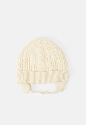 ARAN HAT - Gorro - french vanilla