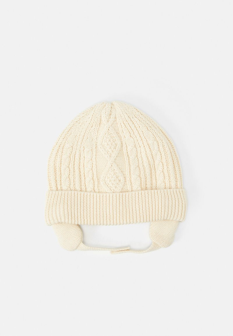 GAP - ARAN HAT - Čepice - french vanilla