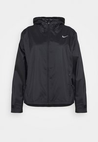 Nike Performance - ESSENTIAL JACKET PLUS - Sports jacket - black/silver - 0
