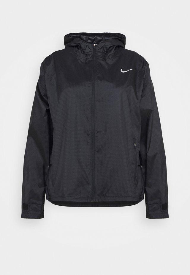 ESSENTIAL JACKET PLUS - Sports jacket - black/silver