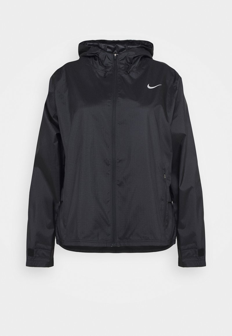 Nike Performance - ESSENTIAL JACKET PLUS - Sports jacket - black/silver