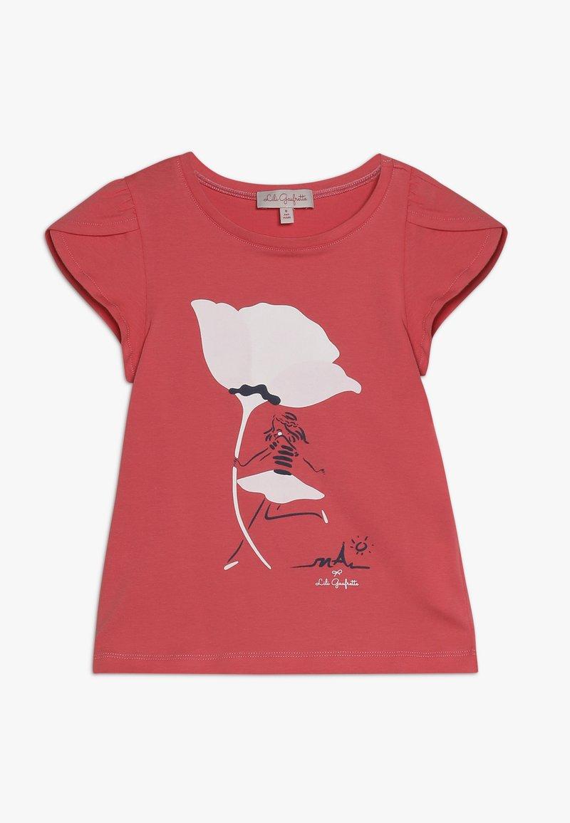 Lili Gaufrette - GALACTIC - Print T-shirt - sorbet
