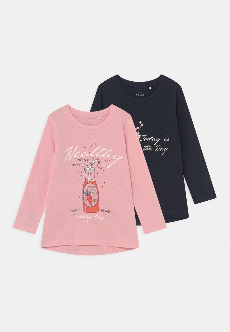 Name it - NMFVEEN 2 PACK - Top sdlouhým rukávem - coral blush