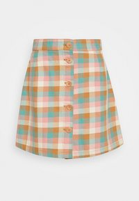 Monki - RIO SKIRT - A-line skjørt - yellow - 3