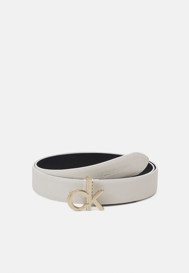LOGO BELT - Belt - white