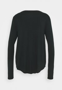 Hollister Co. - EASY CREW - Long sleeved top - black - 1