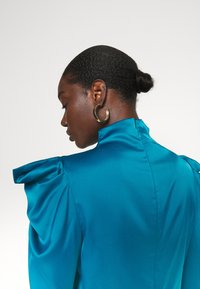 Who What Wear - HIGH NECK - Blouse - dark teal - 5