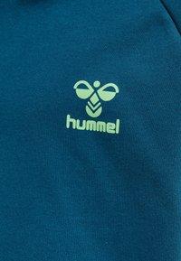 Hummel - Hoodie - blue coral green ash - 3