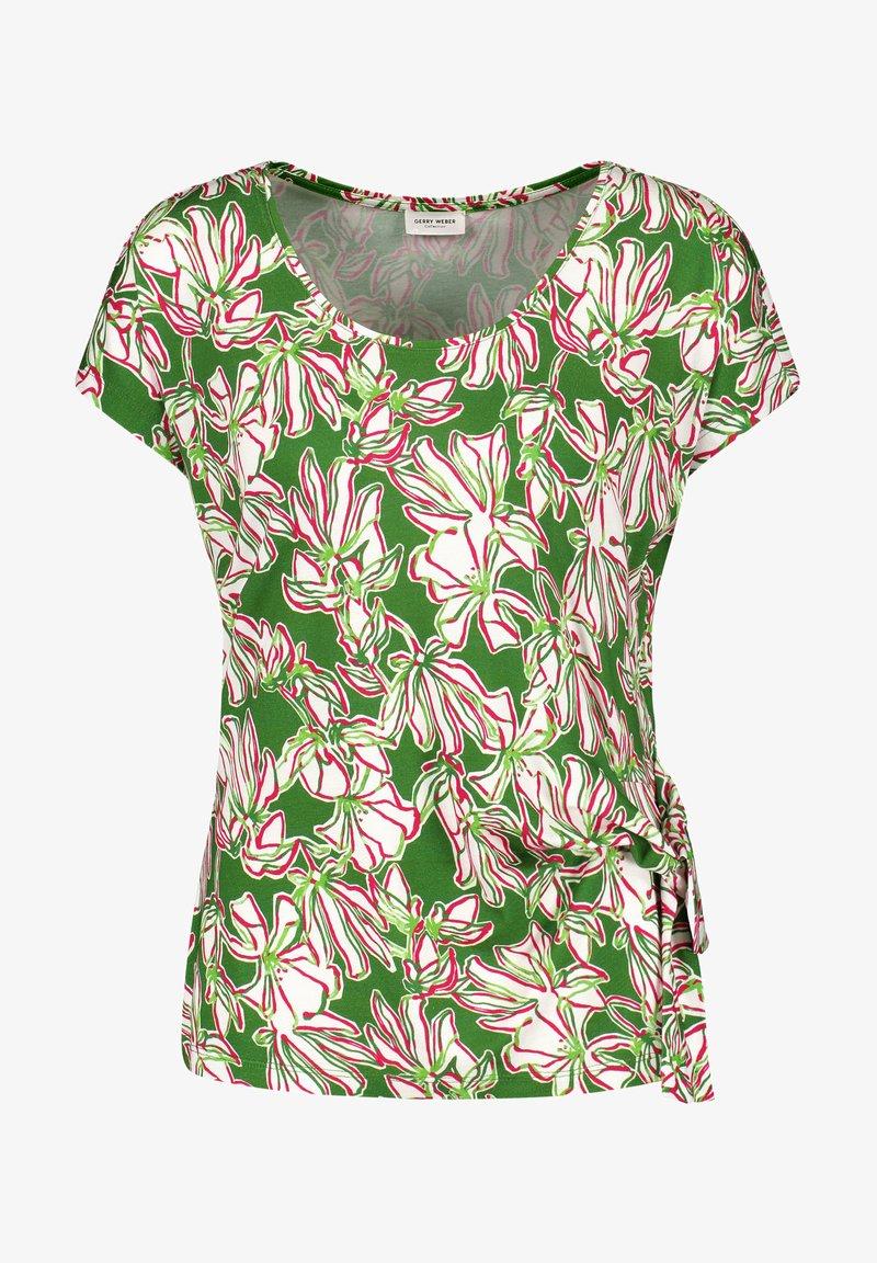 Gerry Weber - T-shirts print - palm white azalea druck