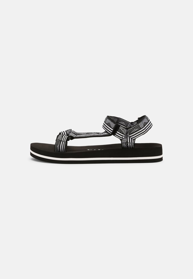 VMKLARA - Sandals - snow white/black-white