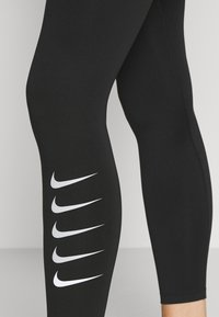 Nike Performance - RUN - Leggings - black/silver - 4