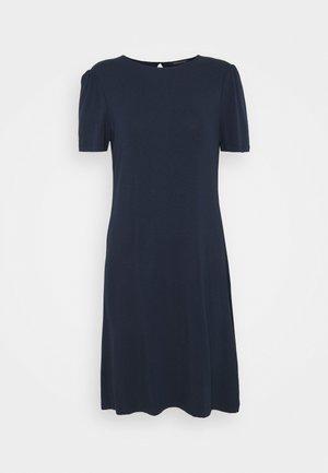 PLAIN SWING DRESS - Jersey dress - dark blue