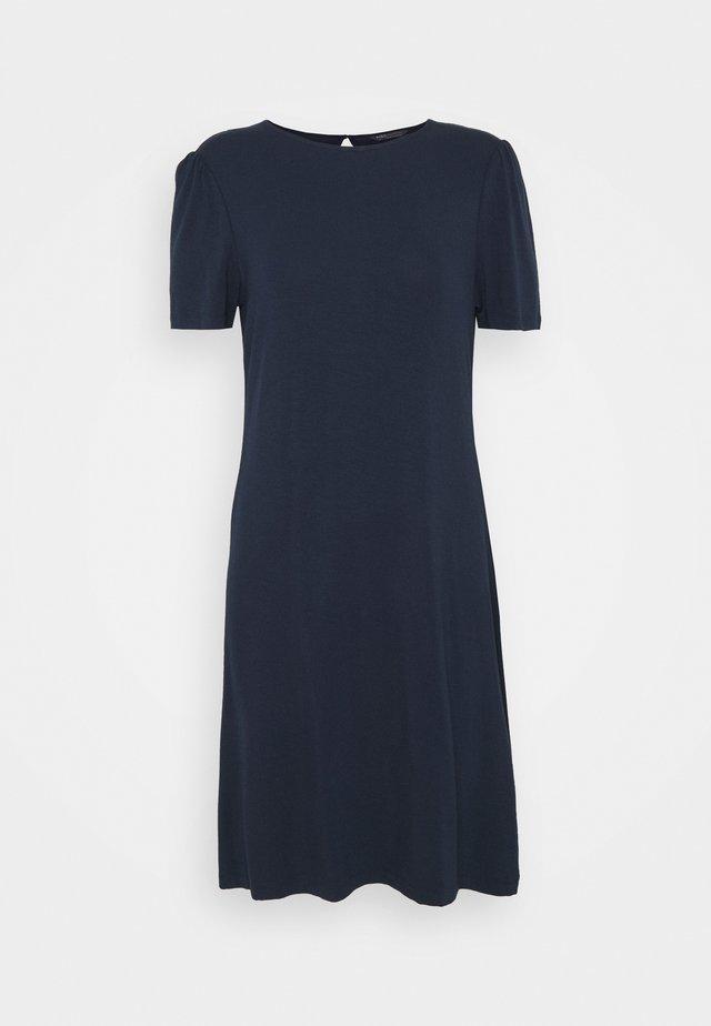 PLAIN SWING DRESS - Žerzejové šaty - dark blue