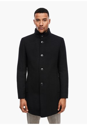 Short coat - black melange