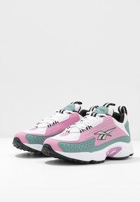 Reebok Classic - DMX SERIES 2200 - Sneakers - jasmine pink/green slate/white - 3