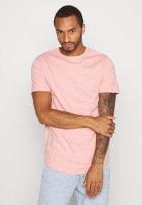 River Island - 5 PACK - Basic T-shirt - pink/white/grey/dark grey/black - 4