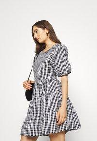 Faithfull the brand - LIZZY MINI DRESS - Day dress - varsha black - 4