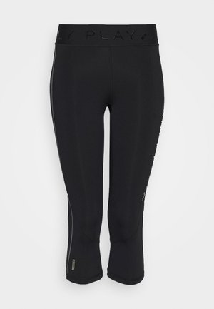 ONPPERFORMANCE TRAINING - Leggings - Trousers - black/red